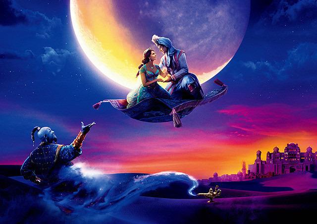 【テレビ/配信最新情報 5月20日~26日】「アラジン」「2分の1の魔法」ディズニー作品目白押し