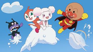 """アンパンマンといっしょに、深田恭子と山崎弘也が""""サンサンたいそう""""! 「ふわふわフワリーと雲の国」ダンス映像公開"""