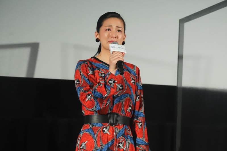 尾野真千子、涙ながらに「茜色に焼かれる」公開をかみ締める 石井裕也監督も最敬礼