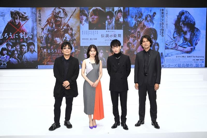 「るろうに剣心」上海国際映画祭の特別招待作に決定 シリーズ一挙上映