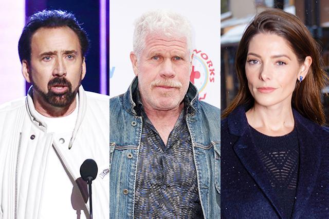 ニコラス・ケイジ、新作アクションスリラーでロン・パールマン、アシュリー・グリーンらと共演