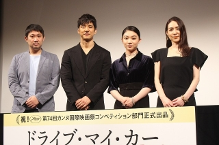 """西島秀俊、カンヌ出品作「ドライブ・マイ・カー」は「""""真実が映っている""""瞬間がたくさんある」"""