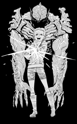 「ルックバック」藤本タツキ氏が描き下ろし! 残虐宇宙人と極悪少女の物語「サイコ・ゴアマン」イラスト公開