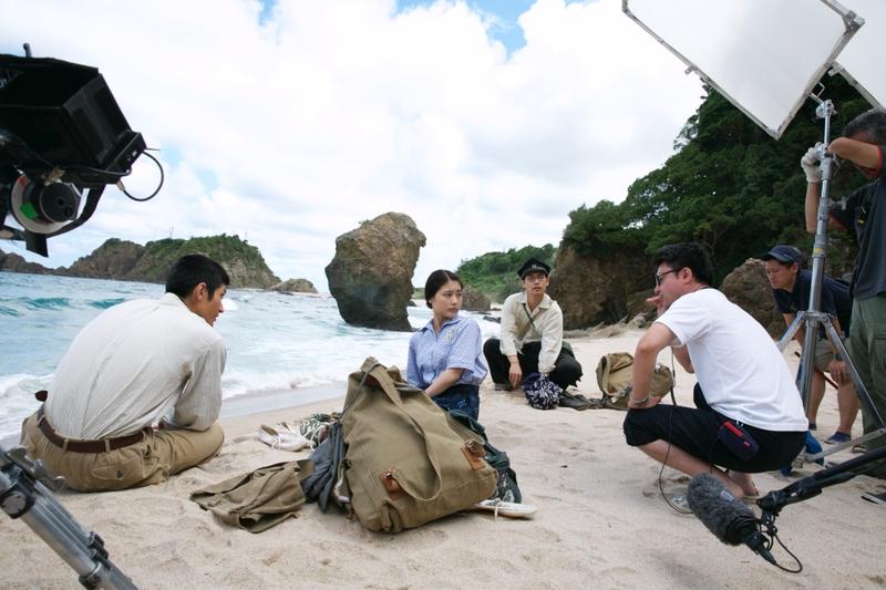 「映画 太陽の子」こだわり抜いたロケ地 京丹後の美しい海に注目のメイキング写真