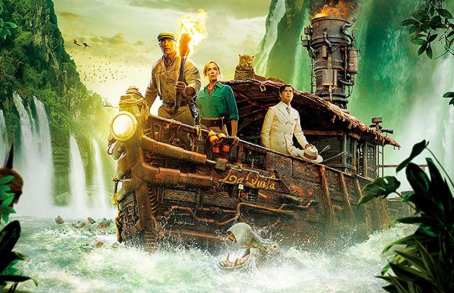 【全米映画ランキング】「ジャングル・クルーズ」がV A24の新作「The Green Knight」は2位デビュー