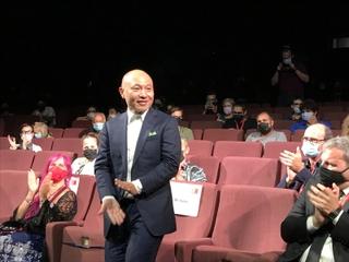 湯浅政明監督「犬王」、ベネチア映画祭オリゾンティ部門でワールドプレミア 終映後に熱い拍手浴びる