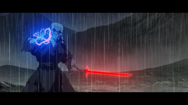 「The Elder」はライトセーバー戦がメインに