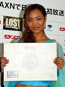 クリスタル・ケイも興奮!「LOST」シーズン3ジャパンプレミア