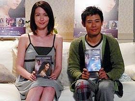 伊藤淳史と山本モナも感涙。「ゴースト/天国からのささやき」CM撮影