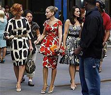 ニューヨーク名物となった映画「セックス・アンド・ザ・シティ」撮影現場