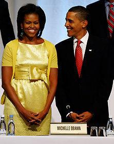 ミシェル・オバマ大統領夫人が「ジェイ・レノ・ショー」に出演
