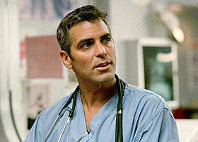 G・クルーニー「ER 緊急救命室」カムバック映像を独占入手