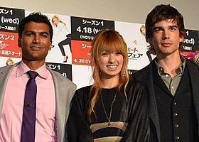 南明奈、米イケメン俳優と「格好よすぎて目が合わせられない」