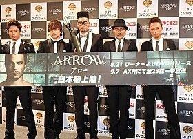 EXILE TRIBEと人気海外ドラマ「ARROW」のタイアップが実現