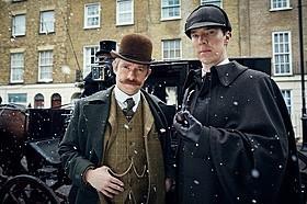 「SHERLOCK」最新作、カンバーバッチが19世紀のロンドンで事件に挑む本予告編が公開