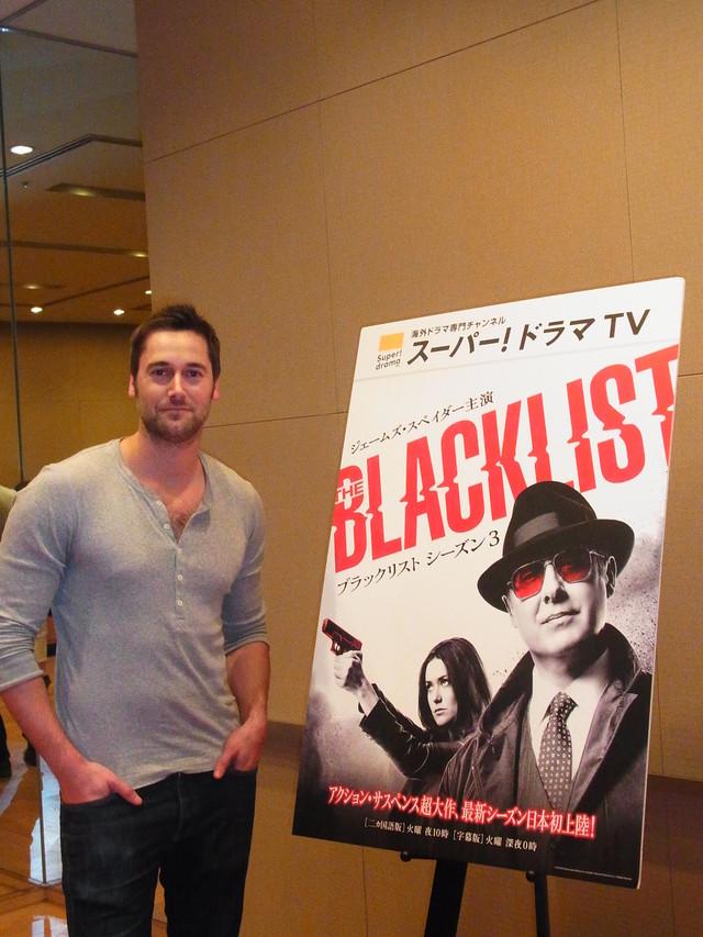 「ブラックリスト」トム役のライアン・エッゴールドがシーズン3の見どころと自身の素顔を明かす