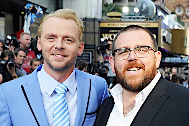 サイモン・ペッグ(左)とニック・フロスト
