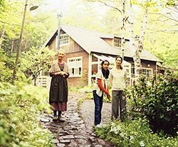 豊かな自然の中でのおばあちゃんとの生活が、 まいの心を癒し、成長させていく