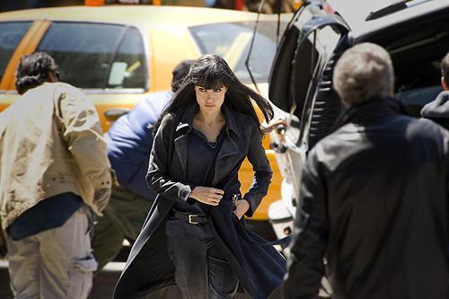 凄腕CIAエージェントに扮した アンジェリーナ・ジョリー