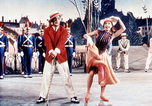 この年のアカデミー賞で、ジーン・ケリー(左)は名誉賞を受賞した