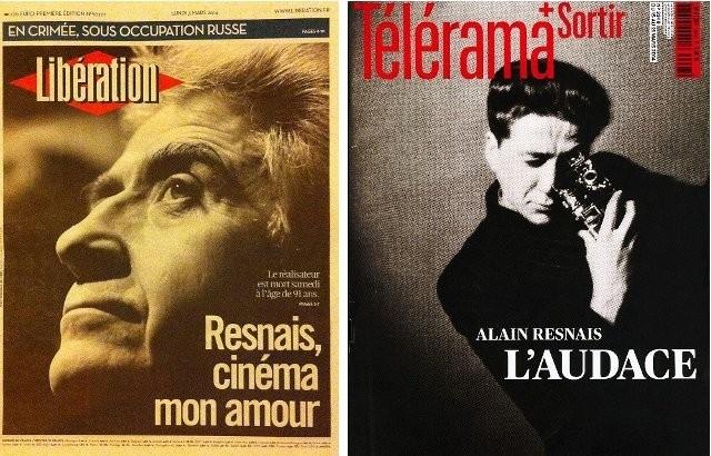 追悼特集を組んだ全国紙リベラシオンと週刊誌テレラマの表紙