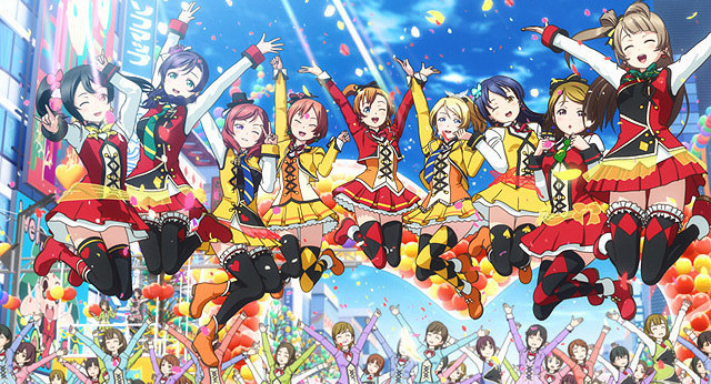 声優陣によるアイドルユニット「μ's」も大活躍した「ライブライブ!」