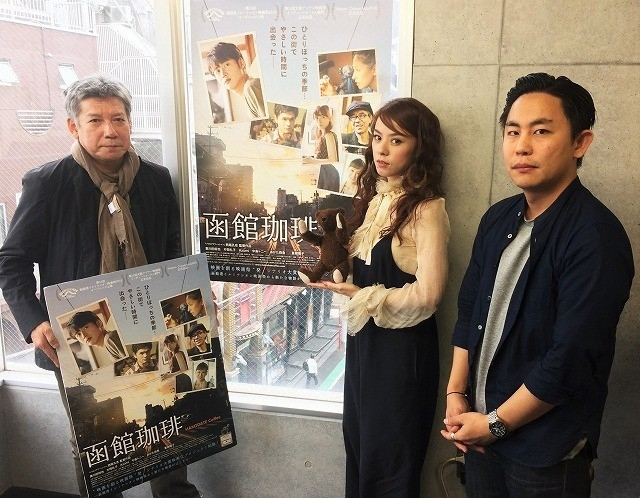 左から小林三四郎氏、Azumiさん、筆者