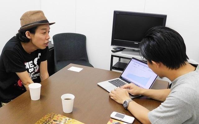 上田監督と筆者