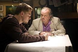 「ディパーテッド」のジャック・ニコルソン(右)