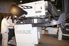 日本唯一のIMAX 3Dシアター サントリーミュージアム[天保山]の映写室