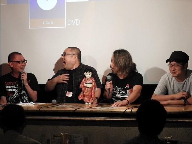 山口幸彦P、後藤剛さん、木原浩勝さん、谷口恒平監督(左から)