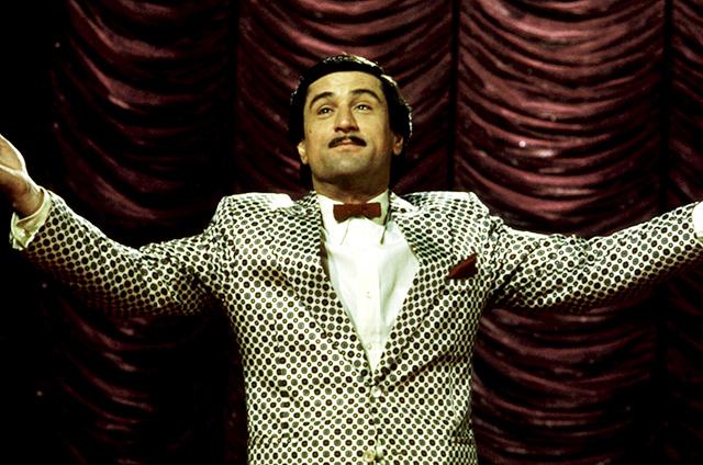 化けて膨張するパラノイア 「キング・オブ・コメディ」のロバート・デ・ニーロ