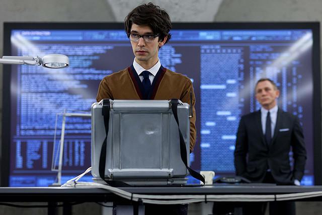 ベン・ウィショー演じるQが初登場した「007 スカイフォール」