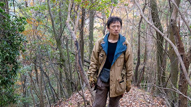 京都の山で猟をしている千松信也さん
