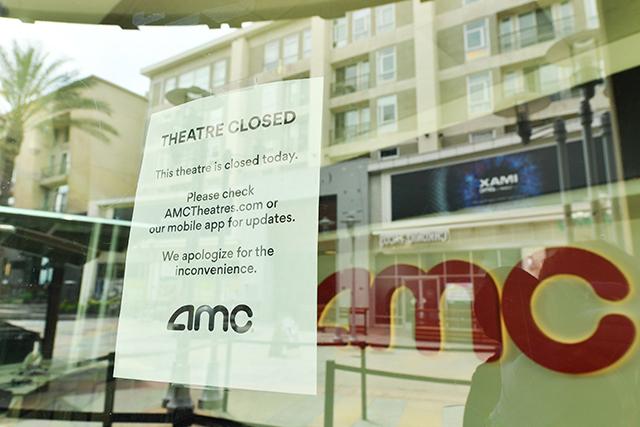 米映画館の営業再開の目処はいまだ立たず