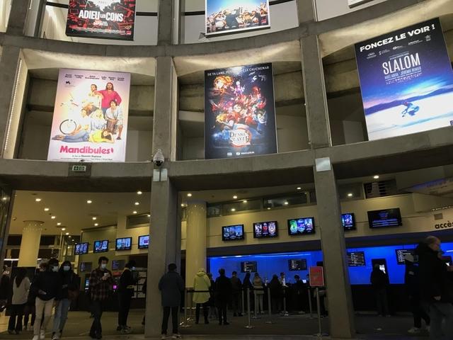 6カ月半ぶりに映画館再開のフランス 「鬼滅」など日本アニメ3本封切り、「音楽」は批評家から高評価