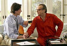 ジャック・ニコルソン(右)とキアヌ・リーブス