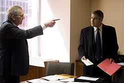 ハリウッドの重鎮シドニー・ポラック(左)の助言が 監督を救った!?