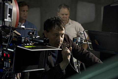 「スペル」撮影中のサム・ライミ監督
