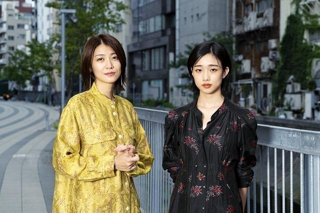 瀧内公美(左)、河合優実(右)