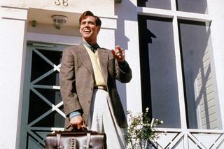 """トゥルーマン・ショーの映画評論『ジム・キャリーの名演が光る! 人生の全てを生中継し続ける""""究極のリアリティショー""""』"""
