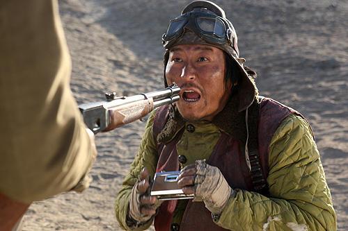 ソン・ガンホの「グッド・バッド・ウィアード」の画像