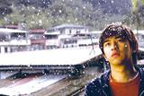 台北に舞う雪