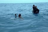 人魚と潜水夫