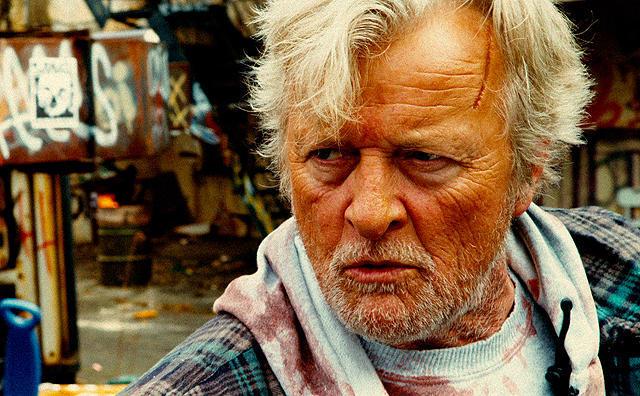 ルトガー・ハウアーの「ホーボー・ウィズ・ショットガン」の画像