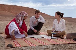 砂漠でサーモン・フィッシング