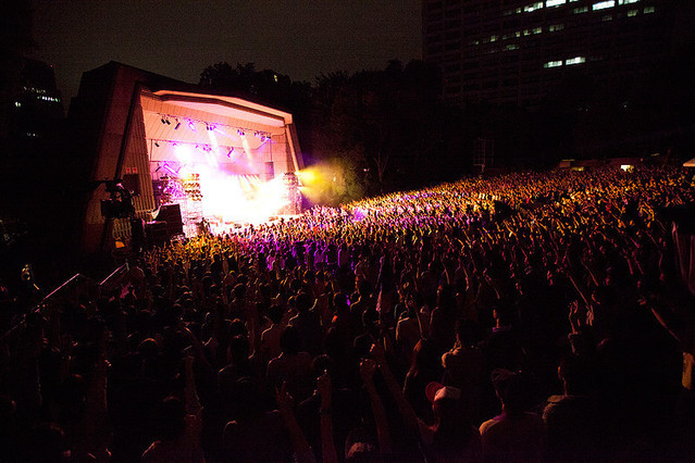 """TRICERATOPS """"GOING TO THE MOON"""" 15th ANNIVERSARY SHOW at HIBIYA MUSIC BOWL"""