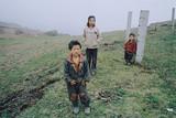 三姉妹 雲南の子