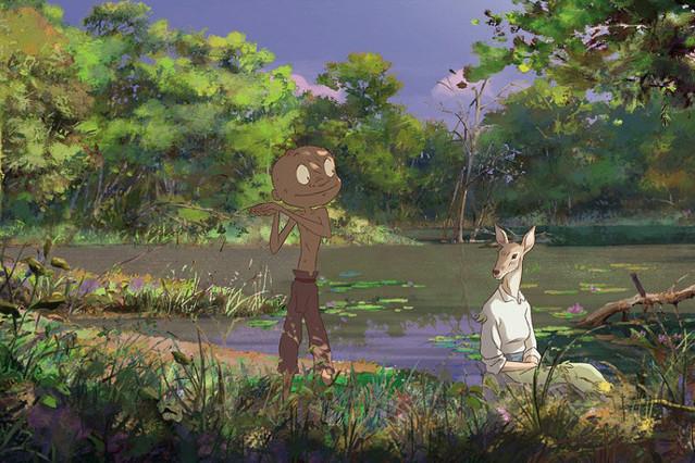 森に生きる少年 カラスの日