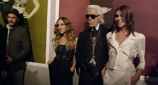 サラ・ジェシカ・パーカーの「マドモアゼルC ファッションに愛されたミューズ」の画像